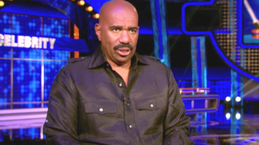 'Family Feud' host Steve Harvey unveils new celebrity edition, says he'll sleep when he's dead