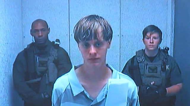 Victims' families address Dylann Roof at bond hearing