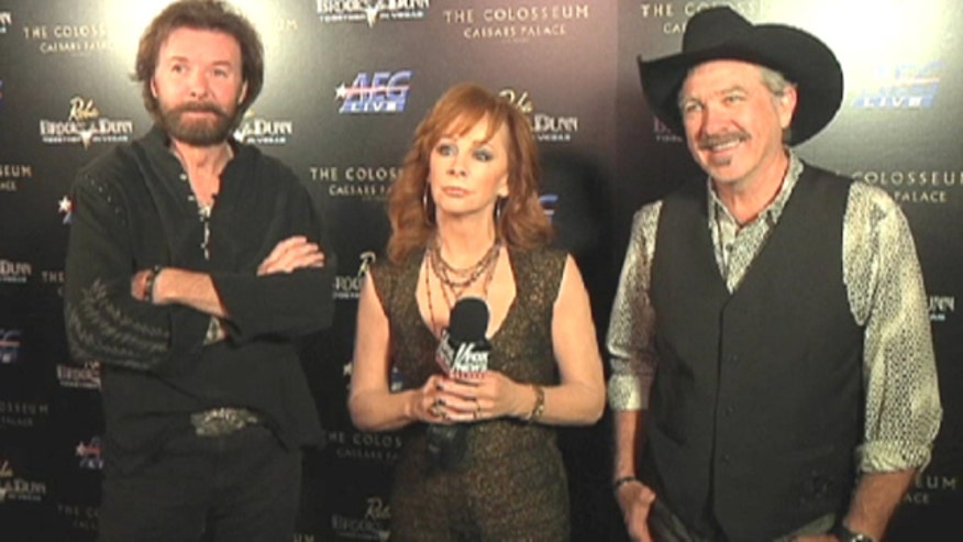 The country royalty talks with Matt Finn about their new Las Vegas residency