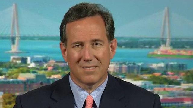 Santorum slams 'politicizing' of SC Confederate flag debate