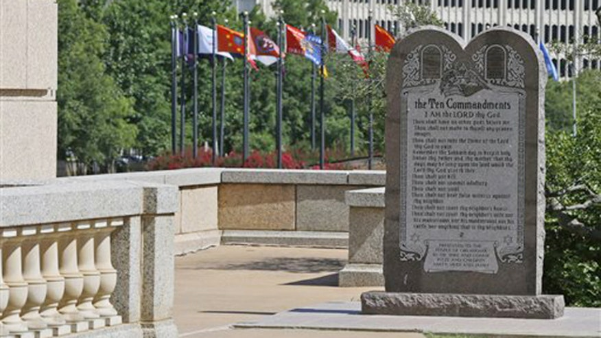Oklahoma Supreme Court: Remove Ten Commandments statue on 'The Kelly FIle'