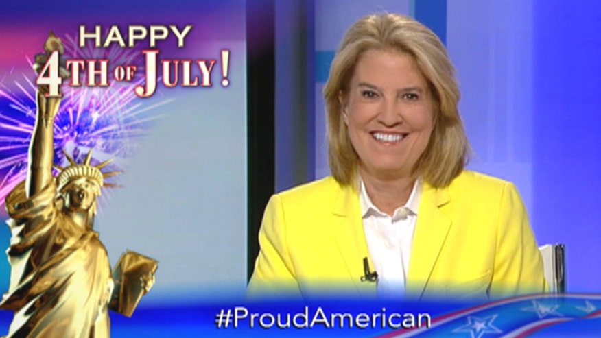 #ProudAmerican: Greta, Hannity, Bret Baier, Gretchen Carlson, Cavuto, Geraldo and more reflect on what makes America great