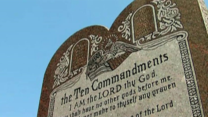 State Supreme Court rules monument on Statehouse grounds violates Oklahoma's state constitution