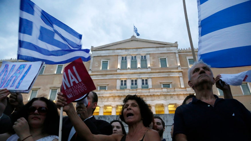 Greece's PM Alexis Tsipras defiant in address