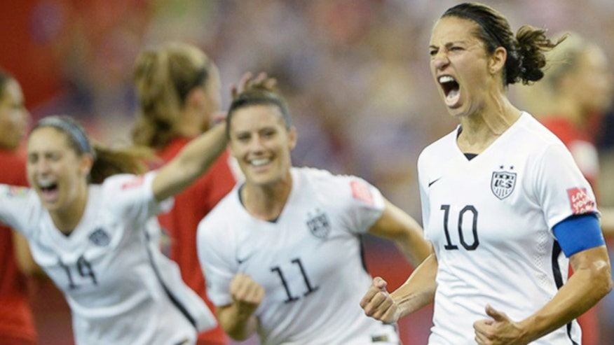 'Off the Record,' 7/1/15: Against all odds, US women's soccer team will be in the World Cup finals this Fourth of July weekend, instilling national pride and reminding us all why we're proud to be Americans. #ProudAmerican