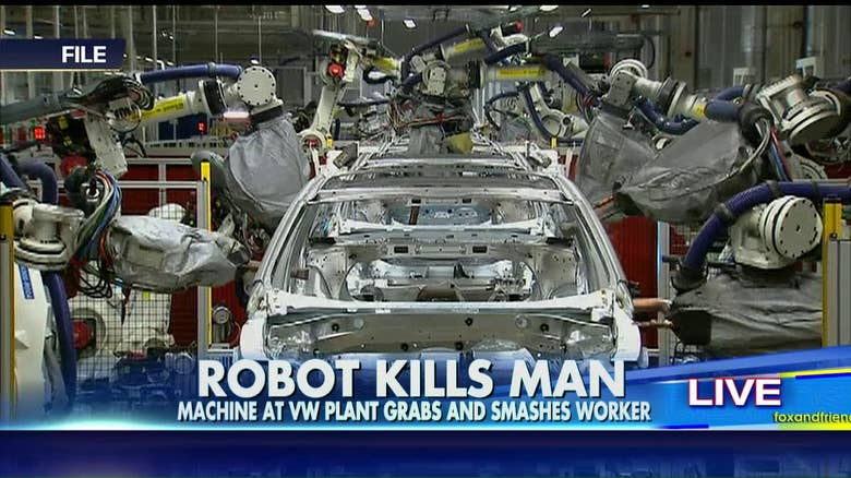 Robot Kills Worker At Volkswagen Auto Plant In Germany