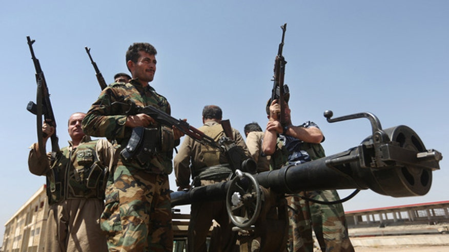 Allies ready to 'go it alone' in giving heavy weapons to Kurds in Iraq