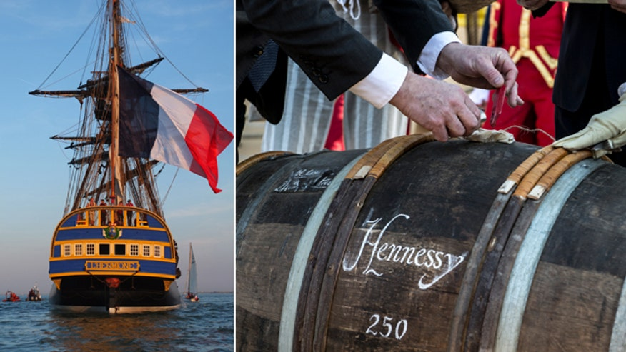 Maurice Hennessy on reconstruction of 18th century ship, the Hermione, and Hennessy's 250th anniversary