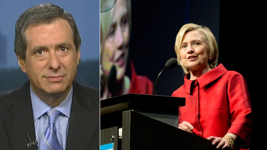 'Media Buzz' host on how the press cover Hillary