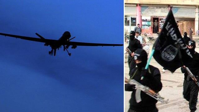 Why drone strikes alone won't destroy ISIS