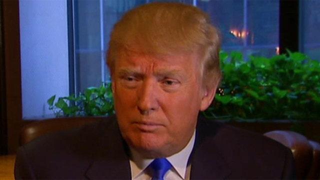 Donald Trump plays defense