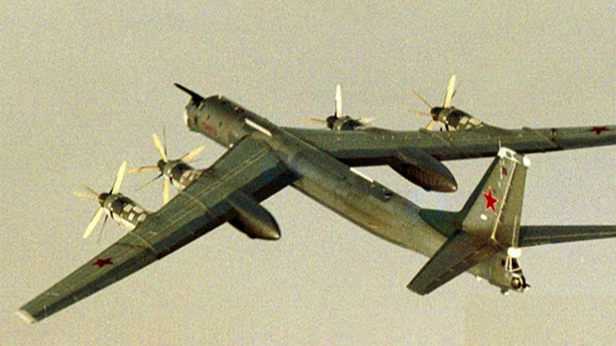 Russian bombers flew off the coasts of California, Alaska on July 4th