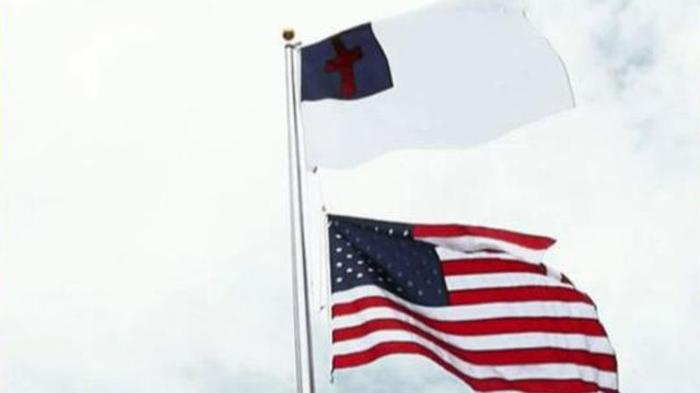 North Carolina church to fly Christian flag over Old Glory