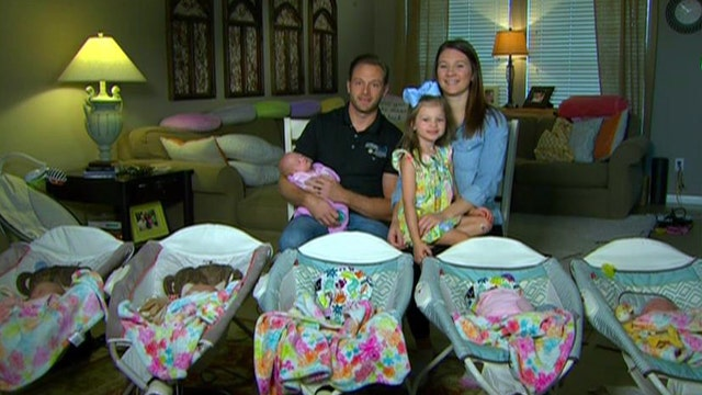 All Girl Busby Quintuplets Are Finally Home On Air