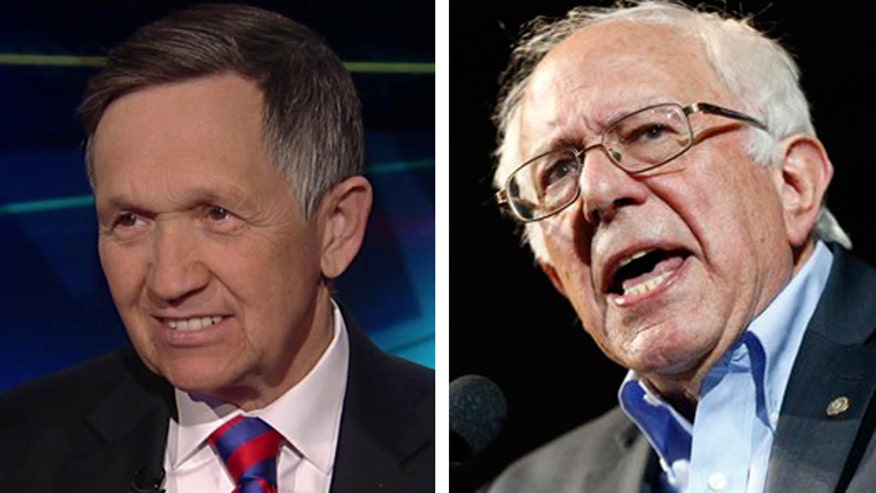 Former Democratic presidential candidate on media dismissing Sanders' momentum