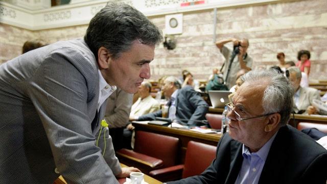 European Union officials receive Greek bailout proposal