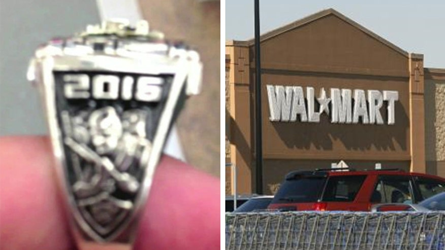 Walmart refunded the customer's money, says the ring will be melted down