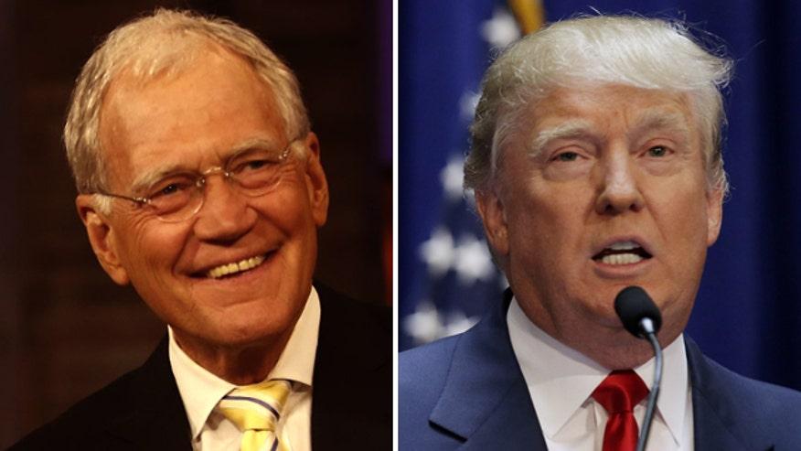 David Letterman made a Top Ten list about Donald Trump
