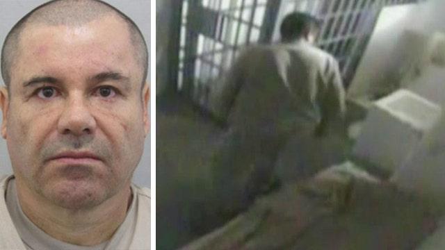 New video shows El Chapo's brazen prison escape