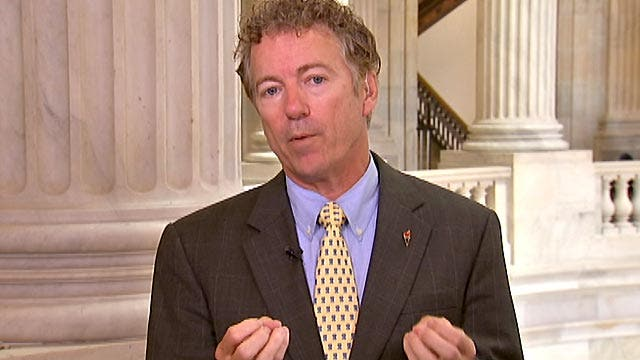 Sen. Paul takes issue with early Iran sanctions release