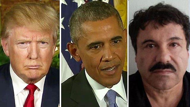 Trump reacts to Obama's Iran deal presser, El Chapo's escape