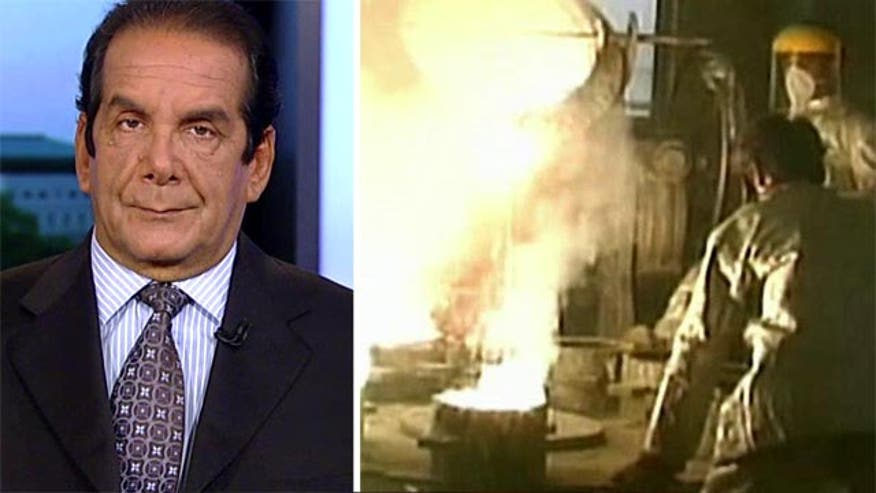 Charles Krauthammer discusses how the deal made with Iran will impact international sanctions.