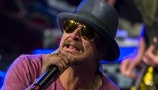 Kid Rock teams up with Jack Nicklaus to beat Gary Player and Lee Trevino at golf tournament