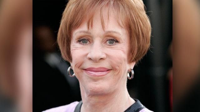 Carol Burnett talks Sid Caesar, Jimmy Stewart, Tina Fey and Amy Poehler