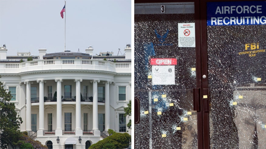 The White House has not lowered flags for Chattanooga shooting victims