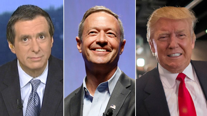 'Media Buzz' host weighs in on how 2016 candidates Donald Trump and Martin O'Malley handle campaign backlash