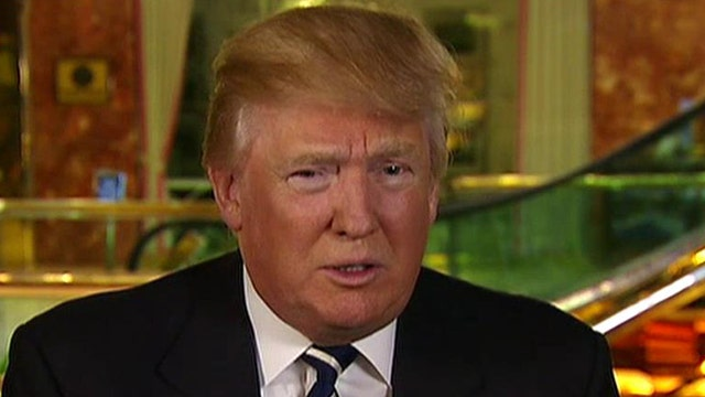 Donald Trump on opposing GOP candidates