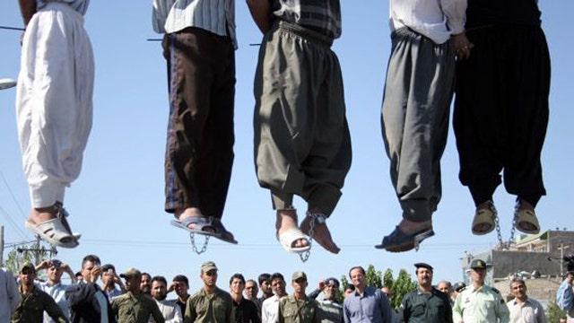 Report: 'Unprecedented spike' of executions in Iran