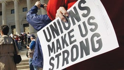 Republican lawmakers took a first step Monday toward trying to fundamentally change the way unions operate, introducing legislation that would restrict how they spend campaign money - and could keep cash away from Democratic candidates in .