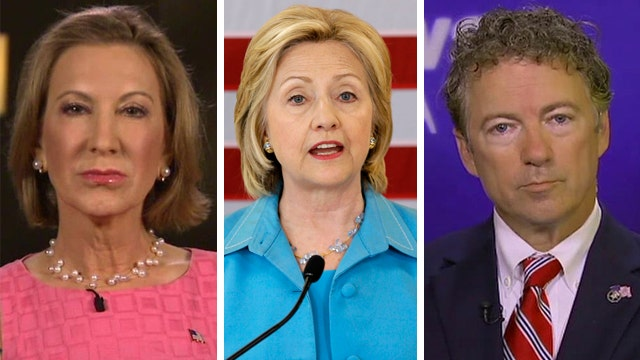 GOP rivals hit Clinton on email server controversy