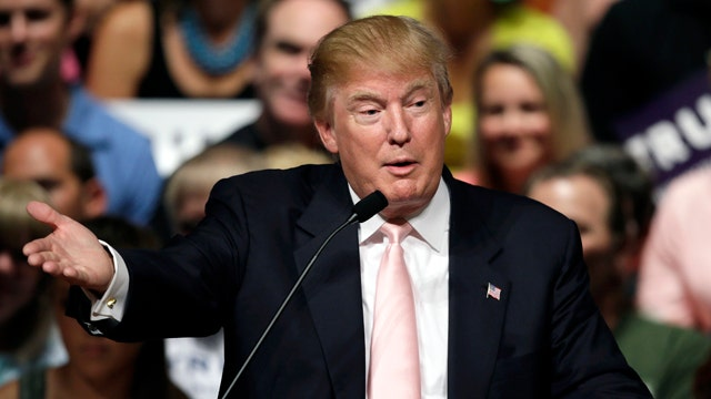 Trump running strong in Iowa, New Hampshire