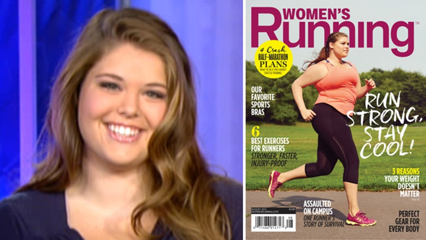 Erica Jean reacts to viral fame after gracing cover of 'Women's Running' magazine