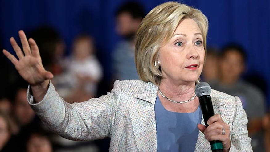 Clinton forgets about female candidate while criticizing Republicans