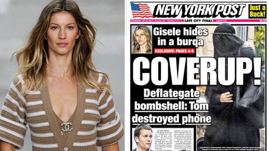 Supermodel dons disguise to have some work done, report says. Plus: Hulk Hogan gets canned, Keith Richards smokes weed