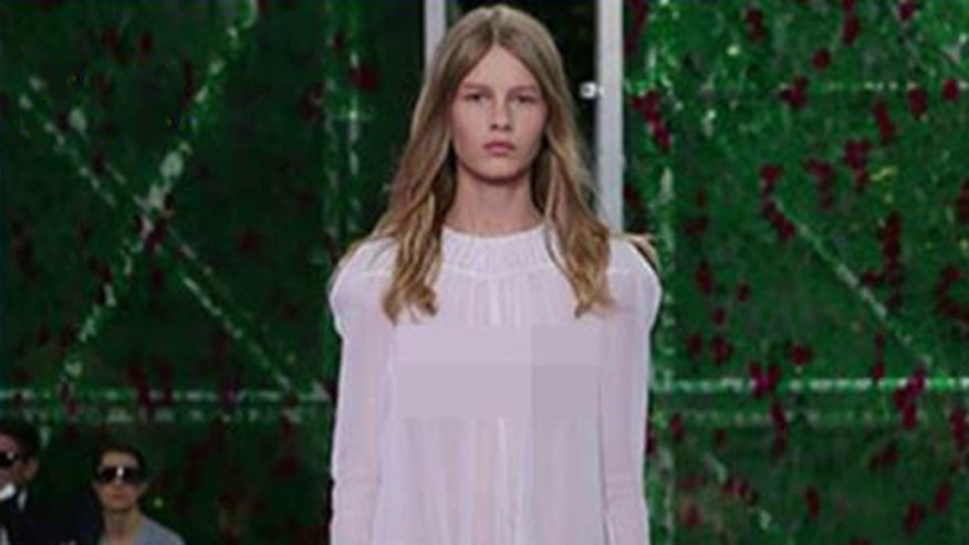 Is Sofia Mechetner too young for the catwalk?
