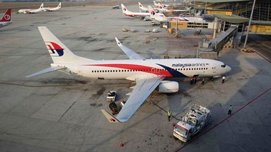 Same type of aircraft as missing Malaysia Airlines Flight 370