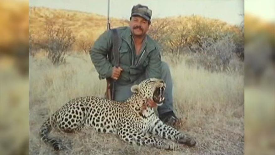 Allen Avilla just returned from Africa where he guided clients on a hunt
