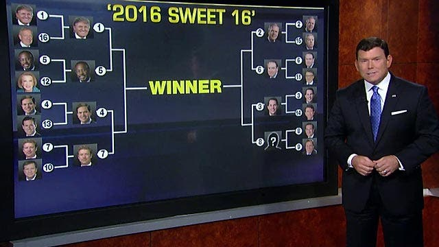 'Special Report' plays '2016 Sweet 16'