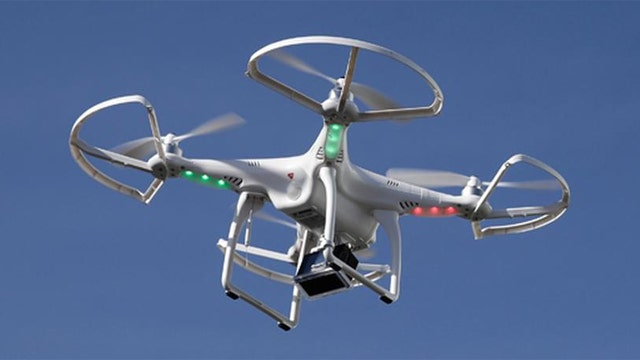 Unmanned drone has a close call with Delta flight