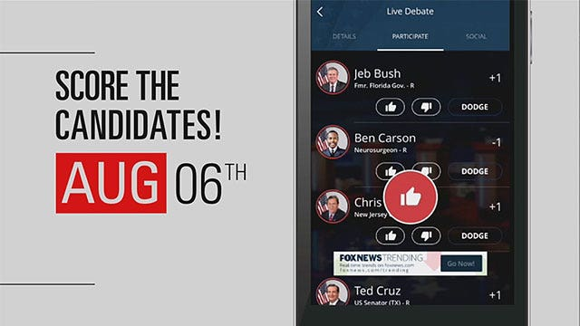Introducing the Fox News 2016 Election HQ App