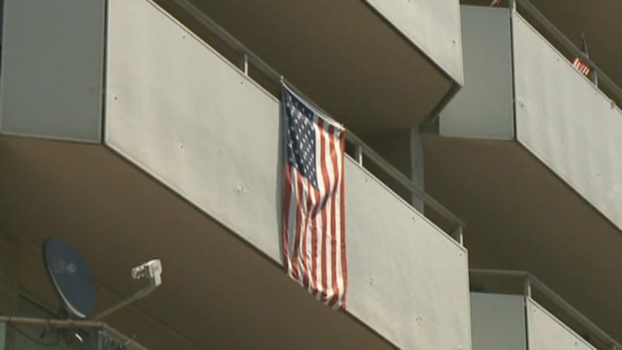 Keith Ludwig fought to keep Old Glory on balcony