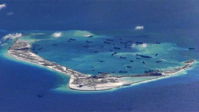 Concern grows over China's island-building