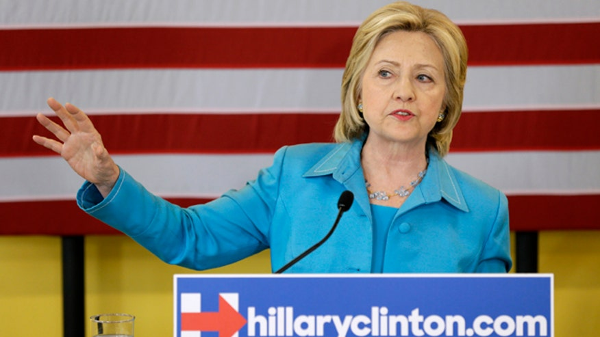 Recent polls show Hillary Clinton's favorability dropping among voters