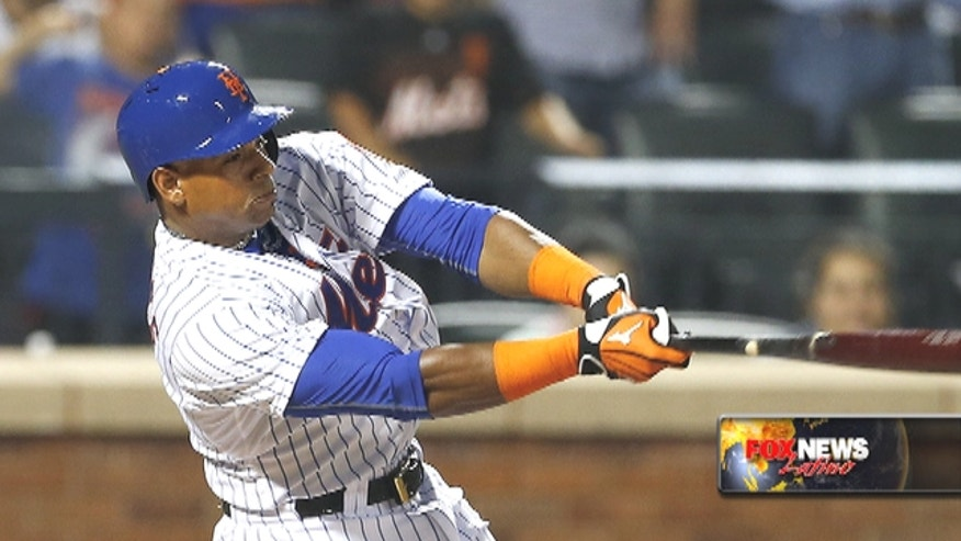 The New York Mets acquired Yoenis Céspedes hoping he would be a big hit in the middle of their lineup, and he helped them slug their way into first place.