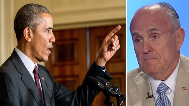 Giuliani calls Iran deal a 'recipe for war'