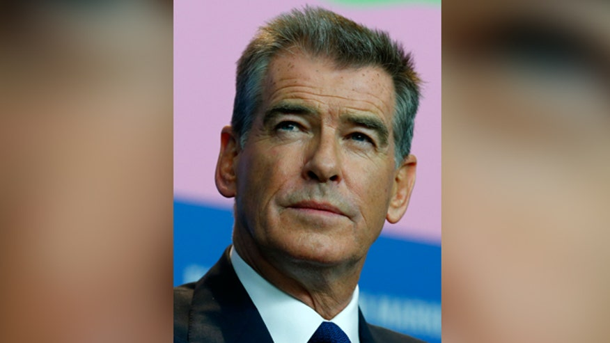 Pierce Brosnan had knife at airport